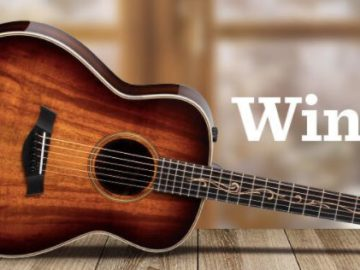 Taylor Guitars Winter Warmth North America Sweepstakes