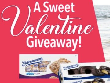A Sweet Valentine Giveaway with Entenmann's