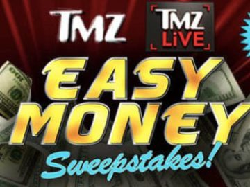 TMZ Easy Money Sweepstakes (Word of the Day)