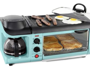 Win Nostalgia '50s-Style 3-In-1 Breakfast Station + $500 Visa Gift Card Giveaway
