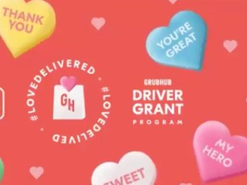 Grubhub's Love Delivered Valentine's Day Sweepstakes (Twitter)