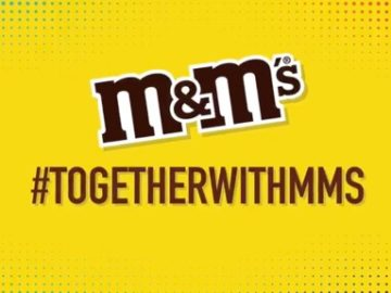 M&M'S Together Sweepstakes (Twitter)