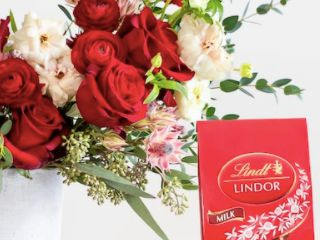 Extra Win It! Farmgirl Flowers and a Year's Supply of Lindt Chocolates