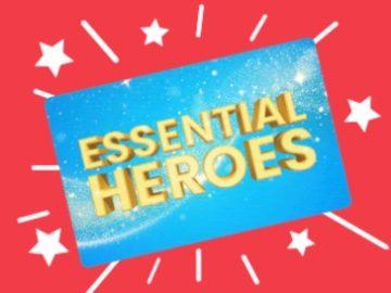 Ellen's Essential Heroes Giveaway (Limited Entry)