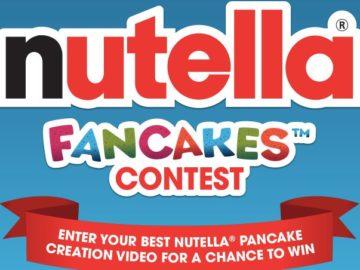 Nutella Fancakes Contest (Video Upload)