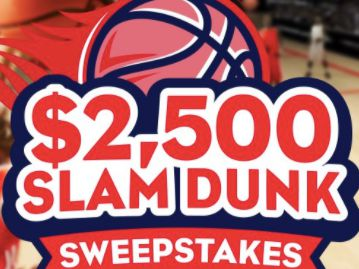 Tasty Rewards $2,500 Slam Dunk Sweepstakes