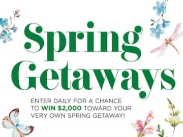 Midwest Living Spring Getaways Sweepstakes