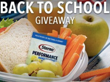 Sterno Back-to-School Giveaway (Facebook)