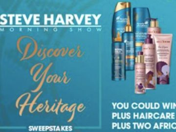 Steve Harvey Morning Show's Discover Your Heritage Sweepstakes
