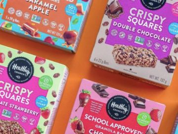 Healthy Crunch Granola Bars Giveaway (Instagram)