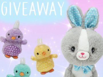 Cuddle Barn Easter Plush Giveaway (Instagram)