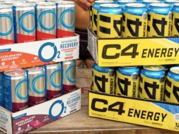 C4 Energy Drink Giveaway (Instagram)