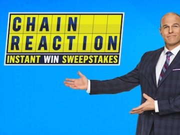 Game Show Network Chain Reaction Instant Win and Sweepstakes