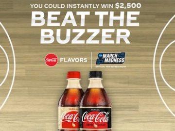 Coke Beat the Buzzer Promotion