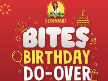 Sun-Maid Bites Birthday Do-Over Sweepstakes