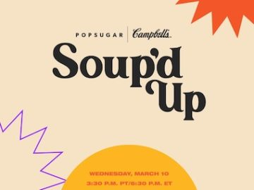 Campbell's Soup'd Up Giveaway (Starts March 10)