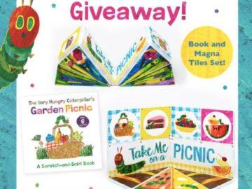 Very Hungry Caterpillar Day Book Bundle Giveaway (Facebook)