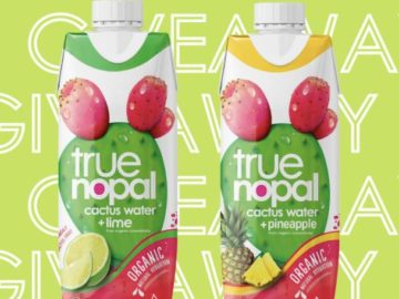 True Nopal Prickly Pear Cactus Water Giveaway (Instagram)