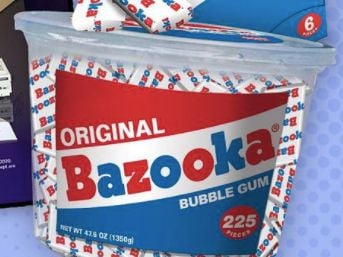 Bazooka Bubble Gum Giveaway (Instagram)