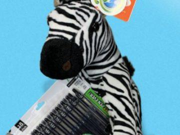 Zebra Pen Plush and Pens Giveaway (Facebook)