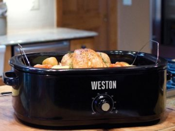 Weston 18 Quart Roaster Oven Giveaway