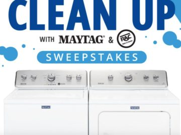 Clean Up with Maytag and RAC Sweepstakes
