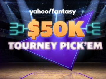 Yahoo Fantasy $50K Tourney Pick'Em