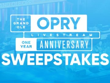 Grand Ole Opry Livestream One-Year Anniversary Sweepstakes