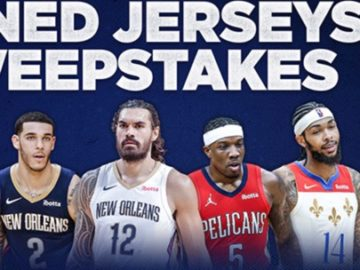 Pelicans Signed Jerseys Sweepstakes