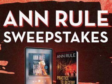 Simon & Schuster Ann Rule Audiobook Sweepstakes