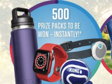 Bravecto Great Outdoors Instant Win Sweepstakes