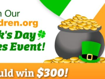 HealthyChildren.org St Patrick's Day Giveaway