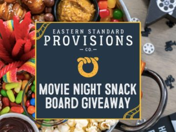 Movie Night Snack Board Giveaway