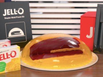 Jell-O Mold Prank Sweepstakes
