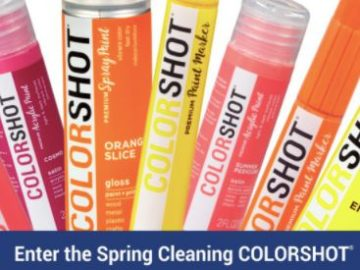 Colorshot Spring Cleaning Giveaway