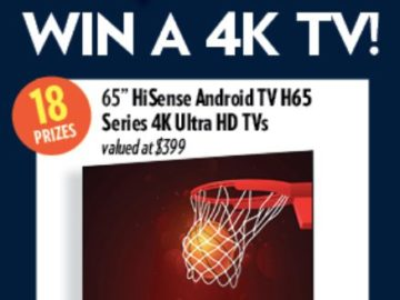 Reasor's Net a Set TV Sweepstakes