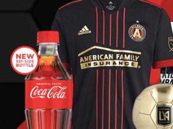 Coca-Cola 2021 Pro Soccer Instant Win Game