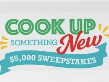 Tasty Rewards Cook Up Something New $5,000 Sweepstakes