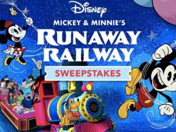 Disney Mickey and Minnie's Runaway Railway Sweepstakes