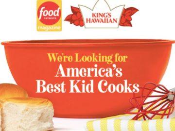 Food Network Magazine April 2021 America's Best Kid Cooks Contest (Recipe + Photo)