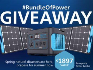 Generark's #BundleOfPower Sweepstakes