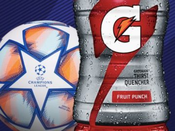 UEFA Champions League 2021 Gatorade Instant Win Game & Sweepstakes (Limited States)