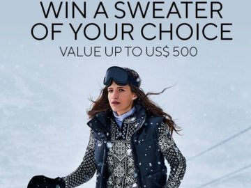 Dale of Norway Sweater Giveaway