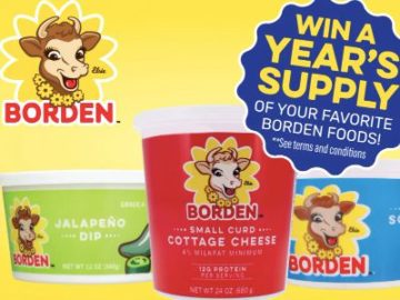Borden's Best Recipe Sweepstakes (TX, LA Only)