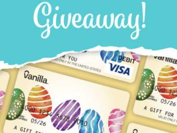Vanilla Gift Easter Giveaway (Facebook)