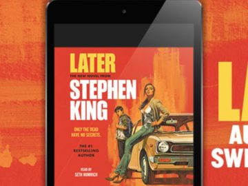 Simon & Schuster Later Audiobook Sweepstakes