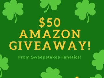 Sweepstakes Fanatics $50 St. Patrick's Day Giveaway