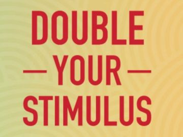 iHeartRadio 2021 Double Your Stimulus Sweepstakes (Code)