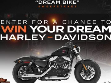 The SONG'S Harley-Davidson Dream Bike Sweepstakes