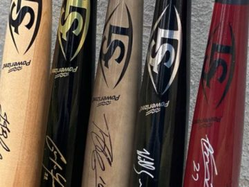 April 2021 Louisville Slugger MLB Bat Sweepstakes